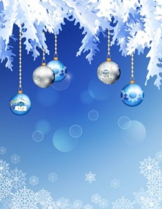 Abstract Vector Christmas Background