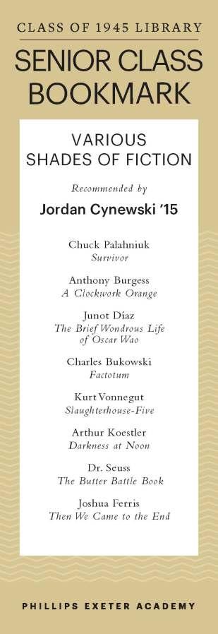 Jordan Cynewski '15