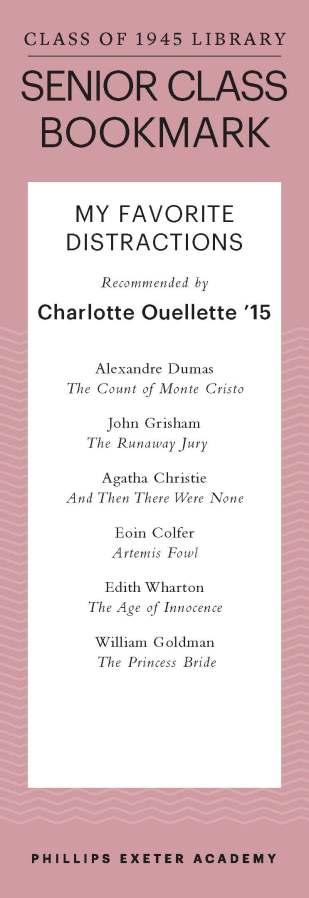 Charlotte Ouellette '15