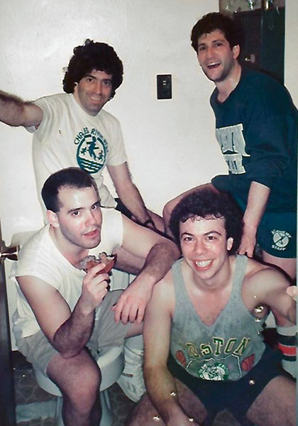 Gary and company at Academy Newton in 1990s
