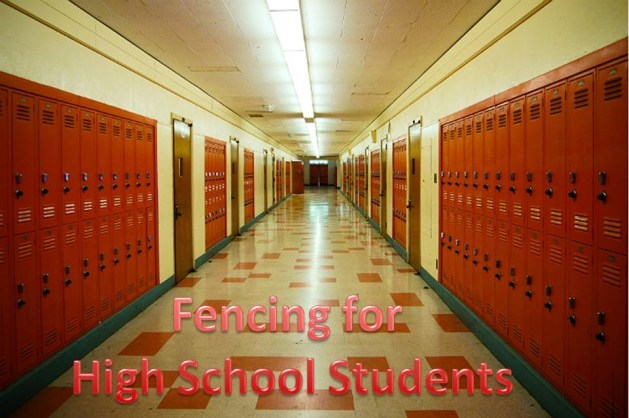 Fencing High School Students - How Fencing Can Them to Cope with Their Stress