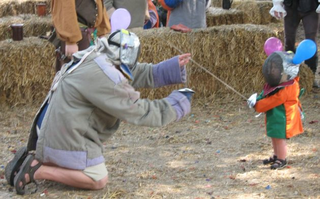 what it takes to be a fencing dad