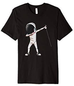 Fencing Dabbing T-shirt