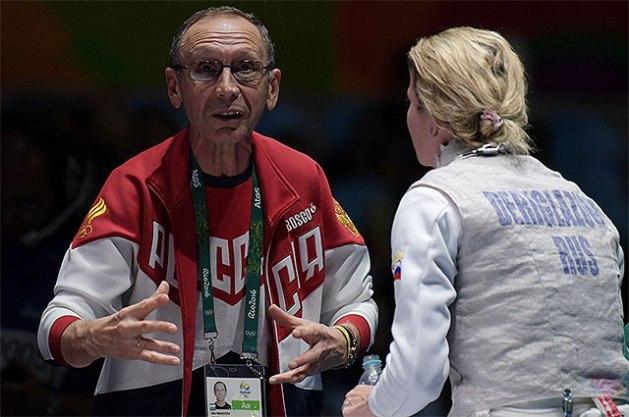 Ildar Mavlyutov with Inna Deriglazova