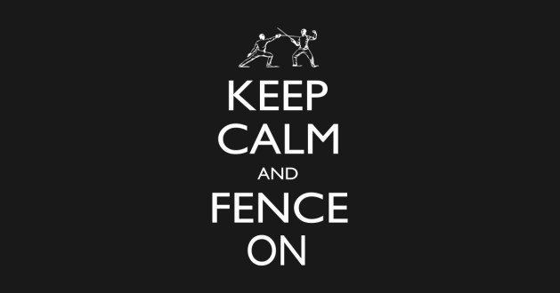 Coronavirus and fencing - keep calm, don't panic, follow good hygienic procedures and enjoy fencing!