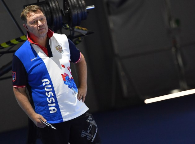Alexander Glazunov, Head Coach Russian Men's Epee and Personal Coach of Sergey Bida