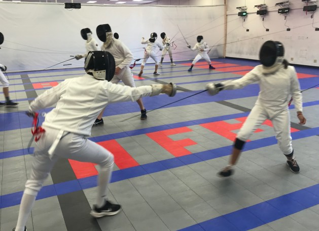 How to Fence Unchallenging Training Bouts