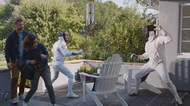 How accessible is fencing - Geico ad about Neighbors fencing problem