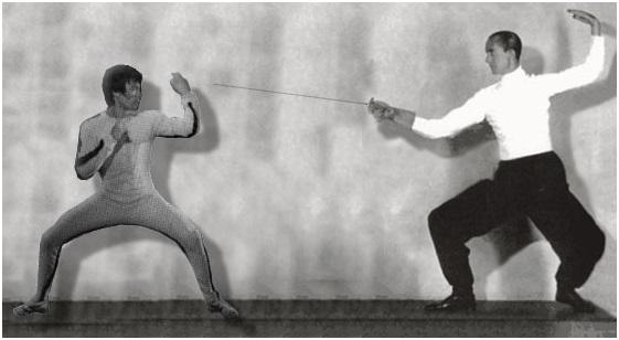 Bruce lee fencer 5