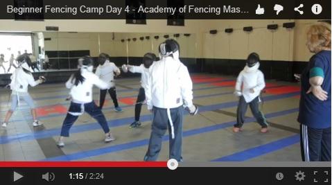 Summer Beginner Fencing Camp