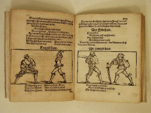 Fencing academies middle ages