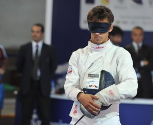Fencing for the blind or visually impaired