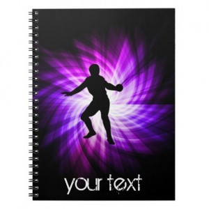Fencing related supplies - spiral notebook