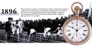 First modern olympic games