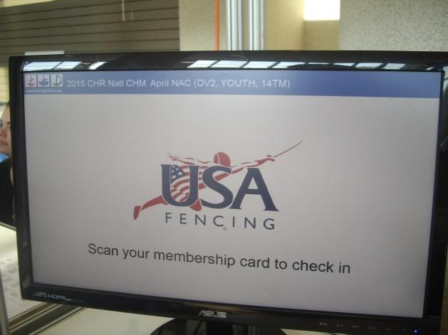 Fencing Club Affiliation