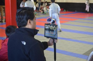 Videotaping fencing