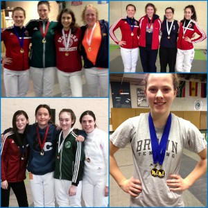 AFM fencers Anya Harkness, Taly Yukelson and Jade Welder took podium and swept 3 fencing gold medals at the latest Bay Cup Women's Epee tournament