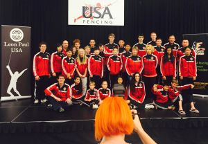 Academy of Fencing Masters Summer nationals Team