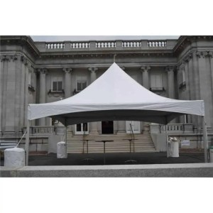 20x20 High Peak Frame Tent Rental