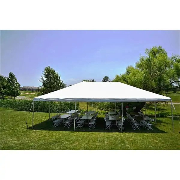20x30 frame tent rental