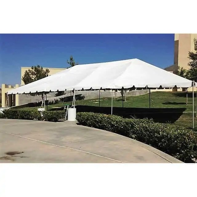 30x50 Frame Tent 120 Guests Academy Rental Group