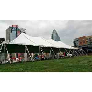40x100 Pole Tent Rental