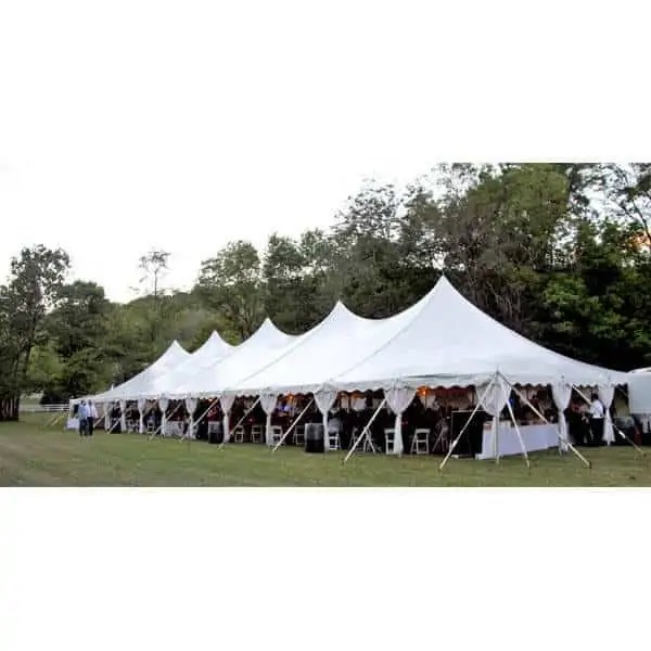 40x140 High Peak Pole Tent Rental Cincinnati Event Rentals