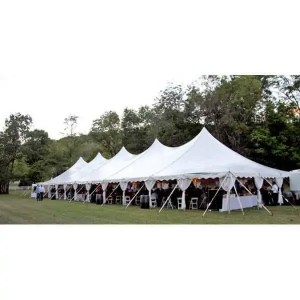40x140 High Peak Pole Tent Rental