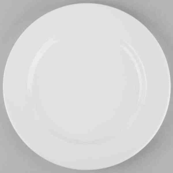 Round Plate Rental