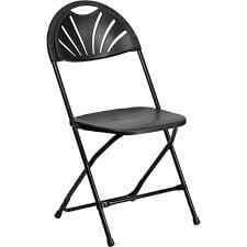 Fanback Chair Rental Cincinnati - Black