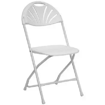 Fanback Chair Rental Cincinnati - White