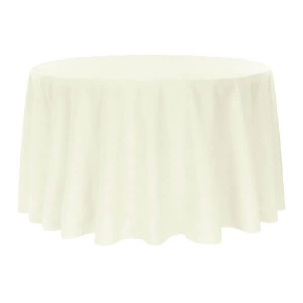 120 inch Round Table Linen Rentals