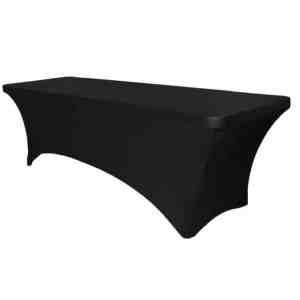 Banque Table Spandex Linen