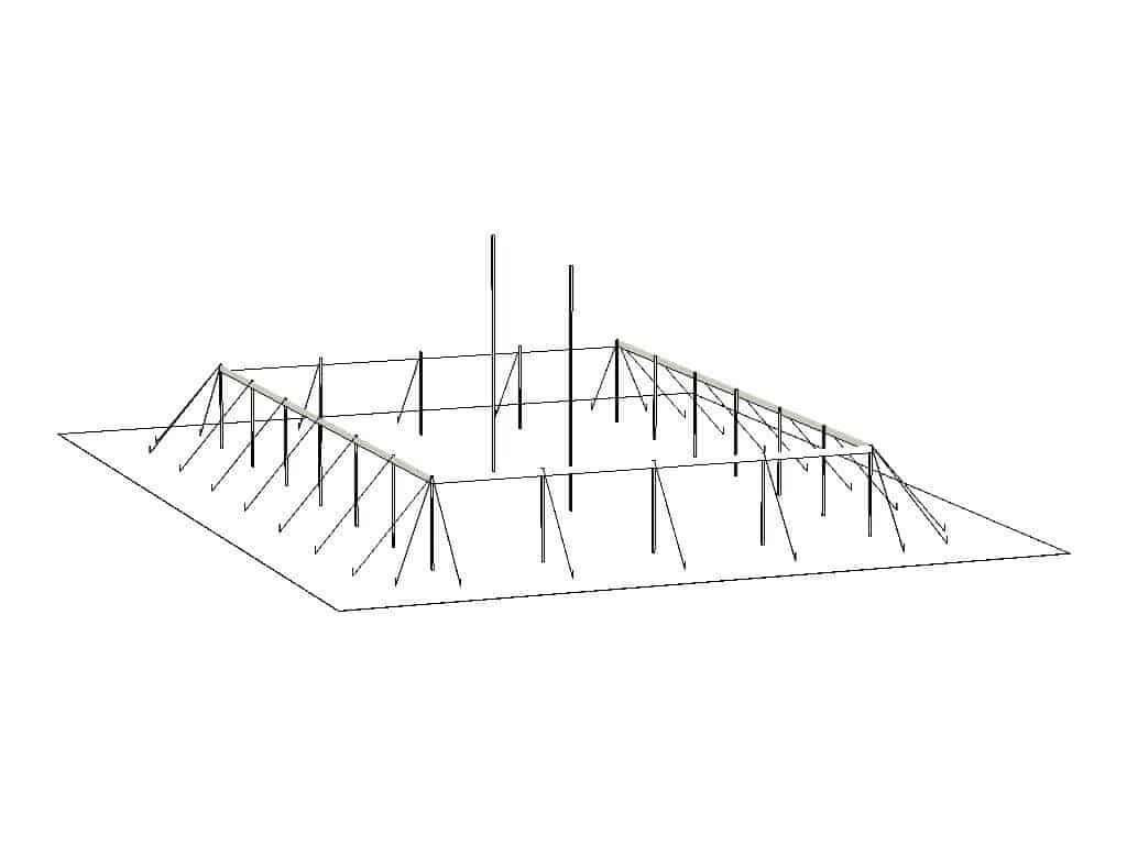 40x60 Pole Structure