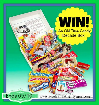 Old Time Candy Giveaway ends 5/10