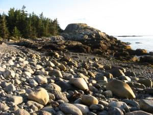 Eben's Head is a spectacular rocky promontory on Isle au Haut