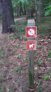 Dogs allowed on Compass Harbor Trail