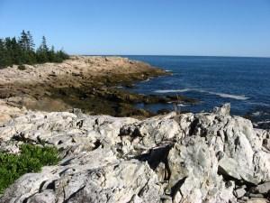 Goat Trail on Isle au Haut in Acadia National Park