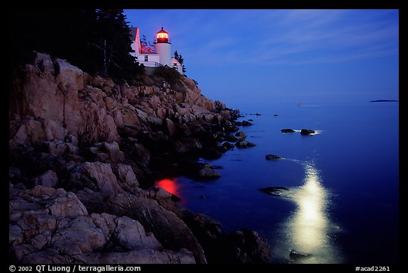 Bass Harbor Head Light photo by QT Luong