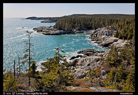 Goat Trail on Isle au Haut in Acadia National Park