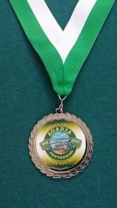 Acadia Centennial Trek medal