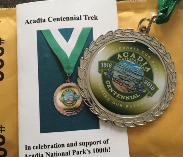 acadia centennial trek