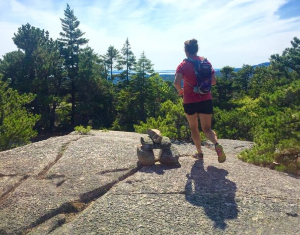 acadia national park running