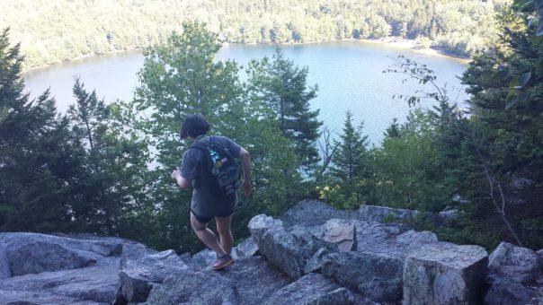 perpendicular trail