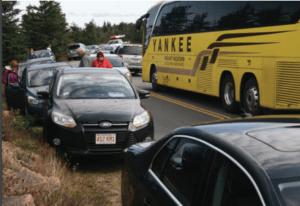 acadia traffic