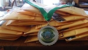 acadia centennial medallion