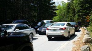 acadia traffic problems