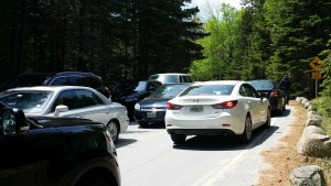 acadia traffic problems