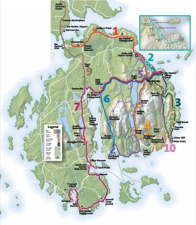 island explorer map