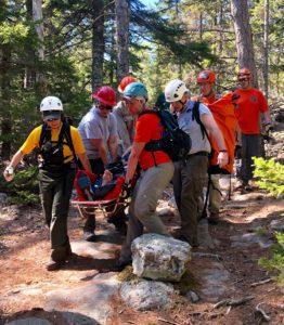 acadia hiking accidents